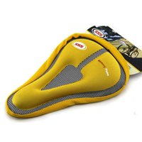 Wholesale High Quality SSS Bicycle Saddle Bicycle Parts Cycling Seat Mat Comfortable Memory Foam Cushion Soft Silica Gel Pad Bicycle Seat Cover