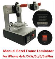 machine - For iPhone s c g s s plus LCD Screen Hot Glue Bezel Frame Laminator Machine Hot Pressure Laminating Repair Tools