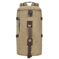 Wholesale Vintage Large Capacity Canvas Travel Bags Luggage Sport Bag Men Military Duffle Bags For Male Malas Para Viagem Deep Grey