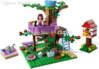 Wholesale Friends Girls series Building Blocks original Bela Olivia s Tree House figures Scene Toys for girl