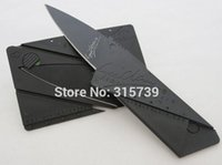 Cheap Factory Price Sinclair Cardsharp Credit Card Knife Wallet Folding Safety Camping Pocket Hunting Knife 50piece Lot-J