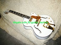 white falcon - NEW White falcon Jazz Electric Guitar withBigsby