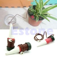 Wholesale Automatic Drip Waterer Spike Tender Houseplant Plant Indoor Watering System order lt no track