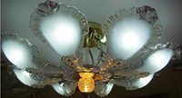 Wholesale Large living room lamp bedroom lamp glass ceiling great room lamps LED lamp beads send light