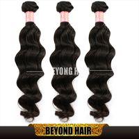 Malaysian Hair virgin hair - Peruvian Natural Wave Hair g Wavy Unprocessed Hair Extensions Virgin Remy Human Hair Weft to inch