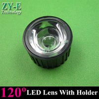 Wholesale sets W W LED lens degree High power lenses bracket with holder LED lamp smooth surface mm PMMA lens