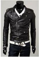 aviation jackets - Fall New Leather Jacket Jaqueta De Couro Men Leather Jacke Motorcycle Avirex Fur Coat Aviation Fur Coat Man Cuero Genuino