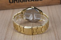 no min order - Min Order European Style MK Quartz Metal Alloy Watch Rose Gold Gold Silver Pc