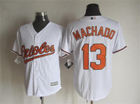 Wholesale Baseball Jerseys Baltimore Orioles Majestic MACHADO New White Baseball Shirt