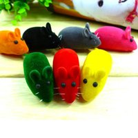 Mouse animal noise toy - 1pc Pet Cat Kitten Dog Playing Toy False Mouse Rat Squeak Noise Sound Toy