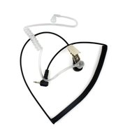 Wholesale mm Listen Only Acoustic Tube Earpiece for Speaker MiC Walkie talkie CB Ham Radio C0018A Fshow