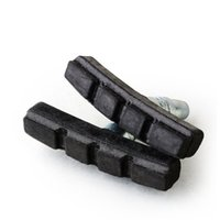 Wholesale 10pcs Bicycle v brake pads brake block rubber brake bicycle brake shoes single