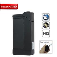 Wholesale SPY LIGHTER HIDDEN CAMERA DVR CCTV GB Micro SD GADGET Video Recorder PC Cam Camcorder