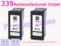 Frete grátis por DHL/EMS!!! Atacado de cartuchos de tinta Remanufaturados para HP C8767E 339 cartucho de jato de tinta (10pcs/lot)