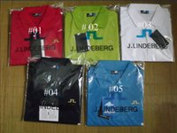 Wholesale Hot sales J LINDEBERG golf brand with men T shirt men s T shirt with short sleeves