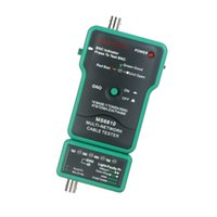 Wholesale Multi Network Cable Tester Meter RJ45 BNC Tests for Coaxial Cable MASTECH MS6810 dropshipping