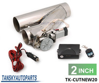 Exhaust System - TANSKY quot Electric Exhaust Catback Downpipe E CUT OUT CUTOUT Valve System Remote Kit UNIVERSAL RACING GT TK CUTNEW20