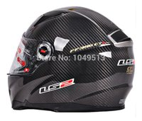 Wholesale new cheap capacete motorcycle LS2 FF396 double lens carbon fiber motorcycle helmet band airbag edition