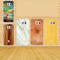 annual covers - Marble Rock Stone Annual Ring Wood Wooden Hard Plastic PC Case For Samsung Galaxy S7 G9300 G930 Colorful Brick Wall Phone Cover Skin