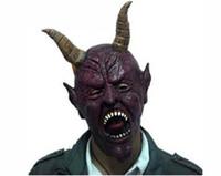 Wholesale Cow Devil Mask Horn Creepy Cow Mask Head Novelty Latex Rubber Masquerade Halloween Masks
