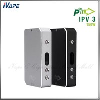 green screen - Green Leaf Pioneer4you iPV3 Mod Authentic iPV3 W Box Mod VW Water Resistant Mod for Battery With Tactile Buttons OLED Screen