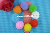 Wholesale high quality mm soft fluffy pom poms crafts work decorative pom balls mix color