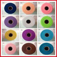 2017 Hot Sale Tulle Rouleau Bobine 6inch * 100yard Tissu Bricolage Tutu Jupe Tulle Rolls Cadeau De Mariage Bow Craft Décoration Tulle Roll BM0001