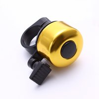 Wholesale New Aluminum Bicycle Bell Safety Mini Cycling MTB Road Bike Ring Horn Handlebar Sound Alarm Bike Accessories