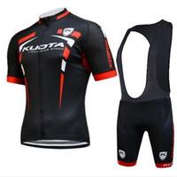 Wholesale 2015 Professional Kuota Cycling Jersey Short Sleeve Cycling Jerseys Set Mountain Bike Jerseys Top Quality Bicycle Team Kuota Jersey