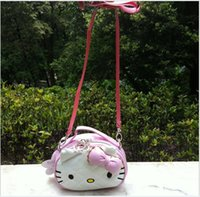 Wholesale New Arrival Kids Cartoon KT Cat Bags Lovely Girls Single Shoulder Mini Backpacks Baby Handbag Children Gift Child Purse