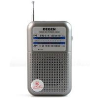 mini speaker rechargeable - DEGEN DE333 FM AM Radio Receiver Mini Handle Portable Two Bands A0796A