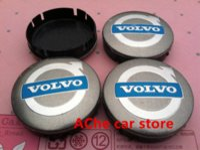 Wholesale 64mm VOLVO modification Wheel Center Hub Cap Badge emblem cover for S40 S60 S80L XC60 XC90