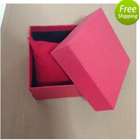 Wholesale Drop Shipping Retail Package Paper Gift Watch Box Red Don t Sell Separate
