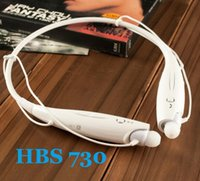 Cheap Upgrade HBS-730 Sports Stereo Bluetooth Wireless Headset Earphone Headphones Sport Neckband Earsets HBS 730 for Iphone 4 5 5S LG Free Ship