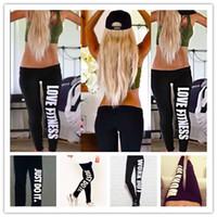 3pcs lot Gym Clothes Women Just Do It Leggins Work Out Love Fitness