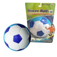 agent - Hover Ball Mini Indoor Semicircle Soccker Ball Toys Kids Indoor Football Kids Safe Soft Gliding Floating Foam Soccer New