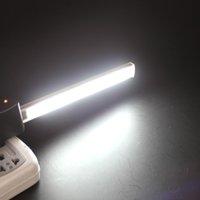 aluminium energy - 5PCS V LED Energy Saving USB Strip Light Potable Aluminium USB Strip Lamp EGS_388