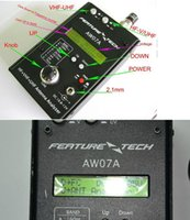 Wholesale DHL NEW Ham radio shortwave radio M HF VHF UHF Impedance SWR Antenna Analyzer AW07A MHZ