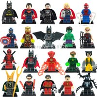 Wholesale Single Sale Marvel Super Heroes Minifigure For Individually Sale XINH Building Blocks Sets Model Bricks Toys