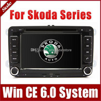 Wholesale 7 quot Car DVD Player for Skoda Octavia Fabia Superb with GPS Navigation Radio Bluetooth TV USB SD AUX Auto Video Audio Stereo Navigator
