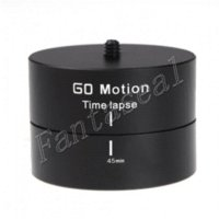 Wholesale Gopro accessories mount Degrees Panning Rotating D panorama delay Time Lapse Stabilizer Tripod Adapter for GoPro Hero