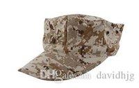 Wholesale Marines Octagonal Cap The US Military Camouflage Cap Hater Snapback Diamond Cap Military Sailor Captain Hats CEMA