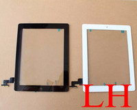 Wholesale Brand New a Ipad Black and White Ipad touch screen complete Ipad Repair parts Ipad digitizer Ipad Display