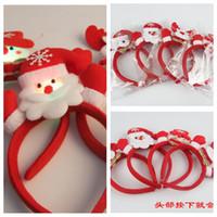 bearings suppliers - ew LED Light Christmas Headband Christmas Snowman Deer Bear Milu Stlys Children Adults Hair Accessories Festive Party Christmas Suppliers