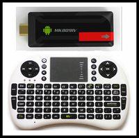 Wholesale MK809IV Mini PC RII i8 Air mouse keyboard Quad Core TV Box RK3188 Android G GB Bluetooth Wifi TV Player HDMI Updated MK809IV