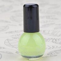 Wholesale new Glow in Dark Fluoresce Luminous Noctilucent Nail PolishNail Varnish Colors ml Beauty makeup zx MPJ498 c2