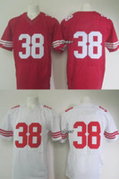 Wholesale 2015 Newest Men s SF4 hayne red white Elite Jerseys Football Jerseys Good Quality