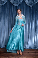 adult cinderella halloween costumes - New Arrival Alice Dream Adult Aisha Princess Dress Sexy Cosplay Halloween Costumes Blue Cinderella Stage Performance Clothing Hot Selling
