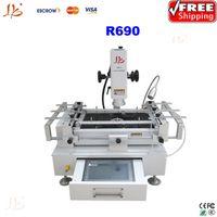 Wholesale 3 Temperature Zones bga rework machine LY R690 hot air bga repair machine with Drawer Type Touch Screen