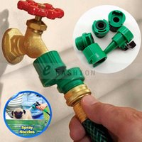 advanced connection - Garden Adjustable Water Pressure Nozzle Advanced Interlocking Technology Tap Connection Adaptor Tools